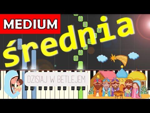 🎹 Dzisiaj w Betlejem - Piano Tutorial (średnia wersja) 🎹