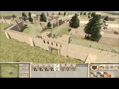 "Rome Total War Online Battle #2427: ""Barbarian Defense vs Rome"""