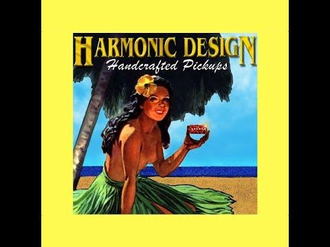 Drunk Blues - Harmonic Design Demo - RS GuitarWorks