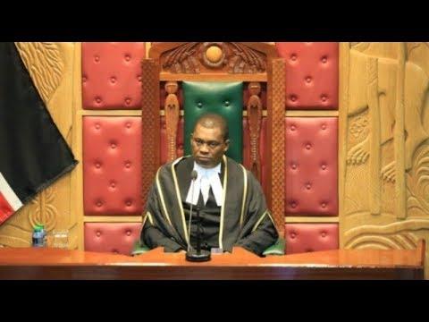 Speaker Muturi humbled as MPs threaten to impeach him over VAT vote