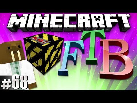 Minecraft Feed The Beast #68 - All Filler no Killer!