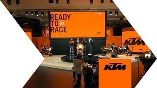WE RACE, YOU WIN! RECAP OF KTM AT EICMA 2018 | KTM