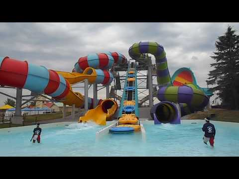 New Slides at Wet'n'Wild Toronto!!| Awesome waterpark!!