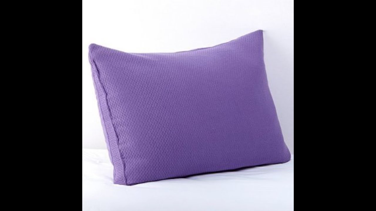 Joy Mangano Review - Memory Cloud Pillow Review - YouTube