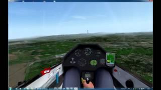 Condor Soaring Simulator Frankreich - Kroatien Part 1: Istres - Saint-Albain