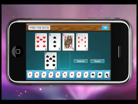 Poker Tutorial Apps.  IPhone And Android Poker School Apps