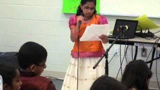 KCS Kalari Day 2014 - Malayalam Poem ENTE BHASHA by Dr JKS Vettor