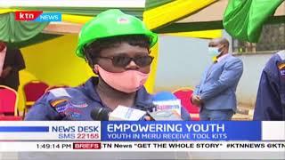 Youth in Meru receive tool kits