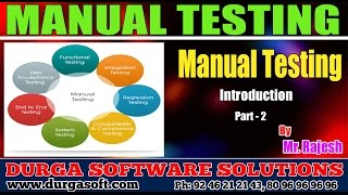 Manual Testing Introduction Part-2 by Rajesh