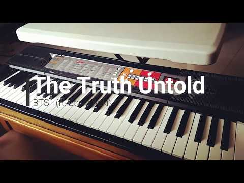 BTS 방탄소년단- Undelivered Truth/The Truth Untold (전하지 못한 진심) (feat. Steve Aoki) Piano Cover