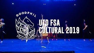 UTD FSA Cultural Dance (Bayan Ko) // Goodphil 2019 [Front Row]