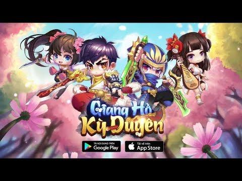 Trải Nghiệm Game Mobile Giang Hồ Kỳ Duyên - Nhân Vật Chibi PK Cực Vui