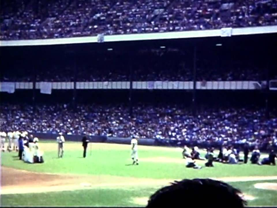 Yankee Stadium Old Timers Day- 1960s - YouTube