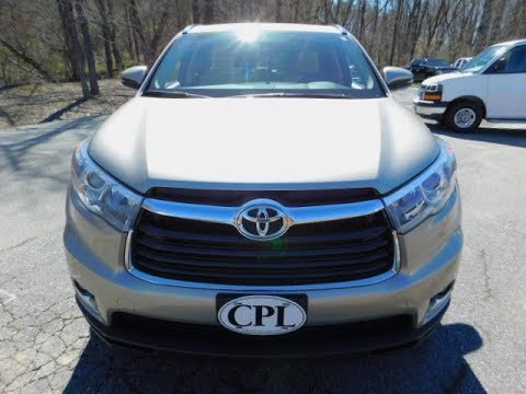 New 2019 Toyota Highlander Limited Awd V6 2552 Generations Will Be Made In
