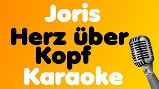 Joris - Herz über Kopf - Karaoke