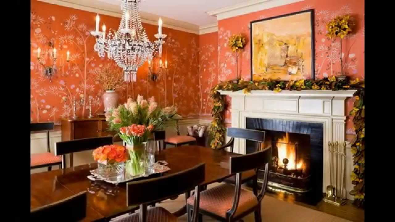 Traditional Dining Room Wallpaper Decor Ideas Youtube
