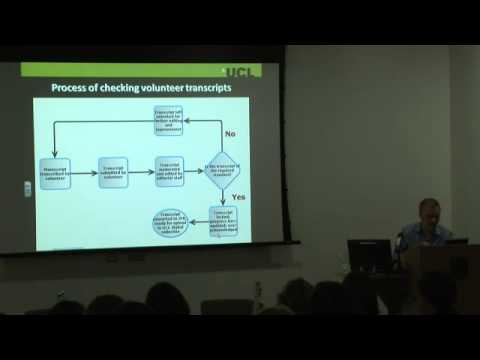 Digital Impacts 2013: Transcribe Bentham: A Participatory Initiative