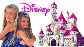 Las Ratitas Gisele y Claudia van al parque Disney con las princesas