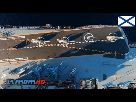 Russian Navy Aircraft Carrier - Admiral Kuznetsov [1080p]