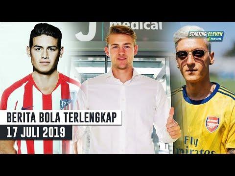 De Ligt RESMI Gabung Juve 😱 Kalian Dibohongi! James Tak Ke Atletico 😂 Jersey Baru Arsenal - Berita