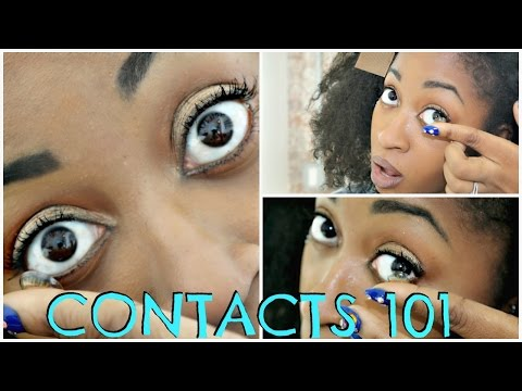Contact Lenses For Beginners | How To Wear, Remove, Clean, Store Freshlook Colorblends Contacts ☆