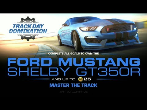 Ford Mustang Shelby GT350R | Real Racing 3 | TRACK DAY DOMINATION | HD