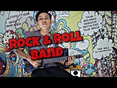 Superman Is Dead - Rock n roll band (Guitar Cover)
