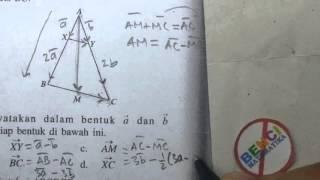 Dasar-dasar arah vektor  pada Segitiga #2