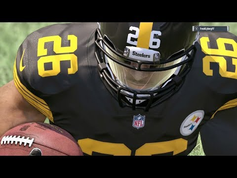 2017-2018 NFL PREVIEW SERIES PART 28: Pittsburgh Steelers - Madden 17 Online Gameplay