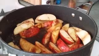 Sautéed Apples With Honey And Cinnamon