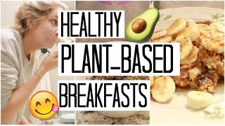 My Morning Skincare Routine | Healthy Plant Based Breakfasts | What I Eat in a Day #9