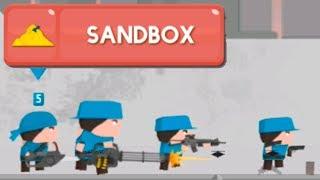 Sandbox Clone Armies! бесконечный режим сандбокс! армия клонов