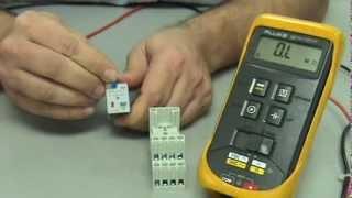 Électricité - Inspection d'un relais de commande