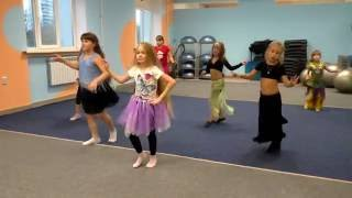Восточные танцы. Дети. Учим и отрабатываем танец Беледи