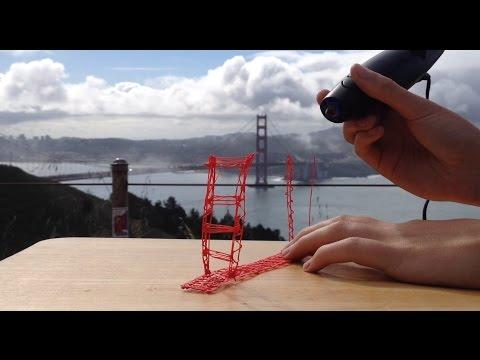 3doodler Creation: Golden Gate Bridge in San Francisco!