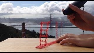 3doodler Creation: Golden Gate Bridge in San Francisco!