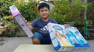 Đồ Chơi Làm Đẹp Bé Doli ❤ ChiChi ToysReview TV ❤ Trò Chơi Trẻ Em baby doll makeup