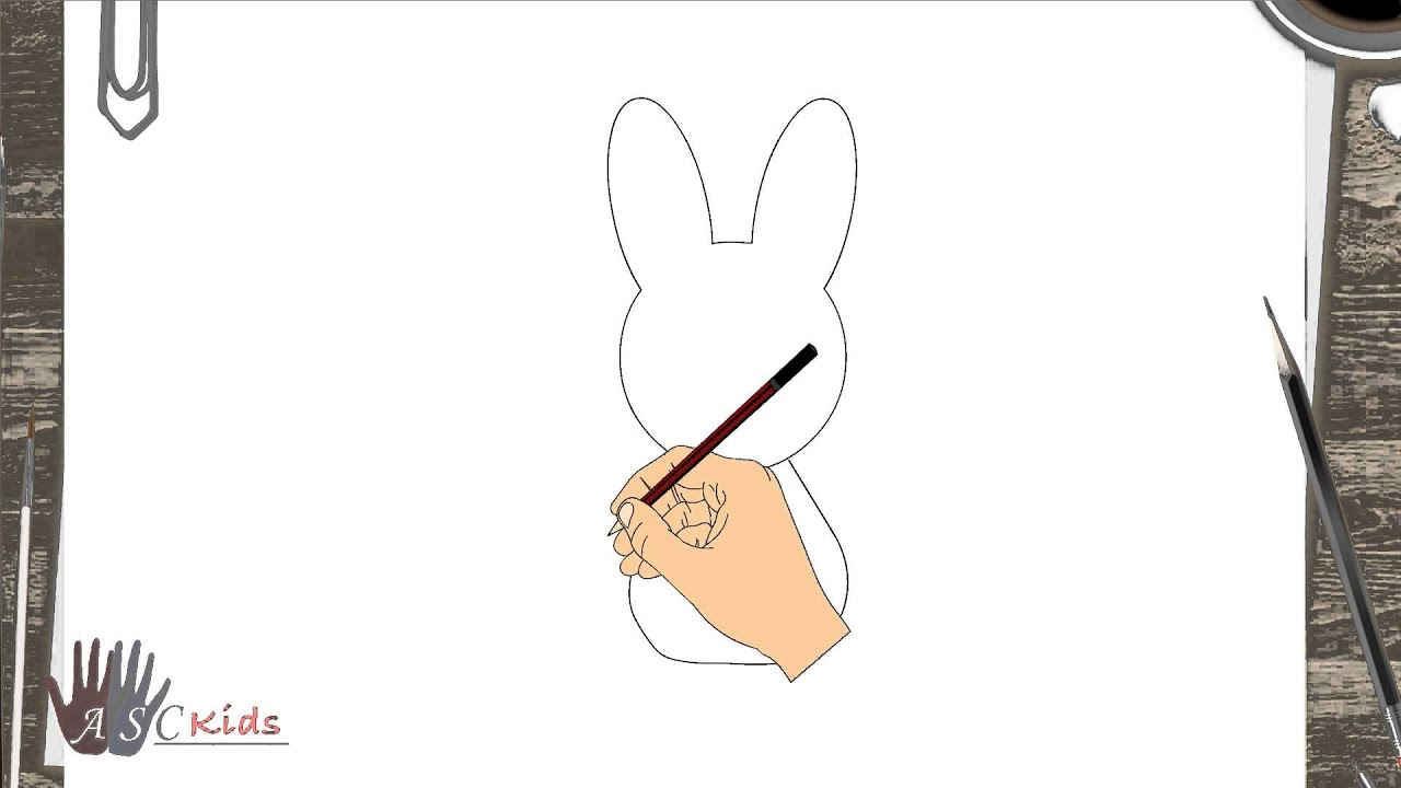 Diy  How To Draw Rabbit  Creative Art Work  Easy Drawing Steps