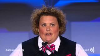 Funny lady Fortune Feimster's side-splitting monologue at #glaadawards