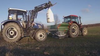 Wiosenne nawozy 2016 Zetor Forterra . JCB . Farmtrac /RudkaTeam