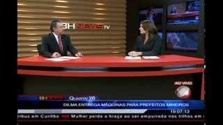 26/02/2014 - Carlos Barroso: Dilma entrega caminhões e máquinas p/ prefeitos mineiros