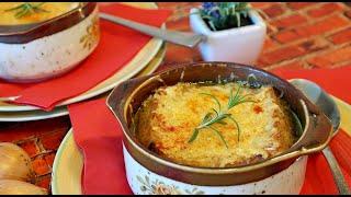 Луковый Суп Настоящий Французский .Бомбически вкусный от ПровансаАллочка Рецепты