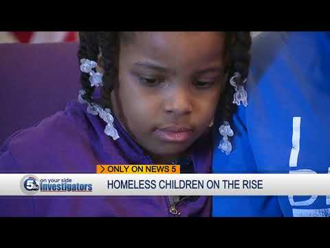City Mission reports nearly 3,000 homeless children attending Cleveland schools