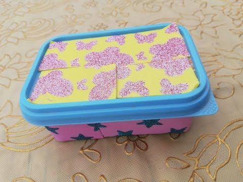 HOW TO MAKE FINGER RING BOX AT HOME FROM WASTE