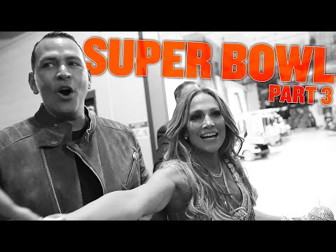 WHAT ACTUALLY WENT DOWN ON SUPER BOWL SUNDAY WITH ALEX & JLO | BTS HALFTIME SHOW | SUPER BOWL PART 3