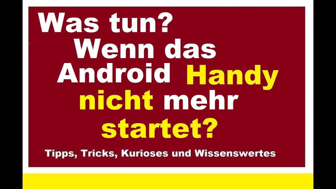 Android Startet Nicht