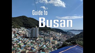 Guide to Busan | Jagalchi Market, Busan Gamcheon Culture Village and Pizza | Part 1