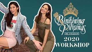 Binibining Pilipinas 2020 Workshop | Catriona Gray & Nicole Cordoves