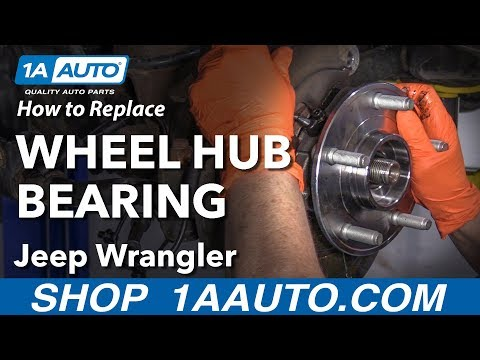 How to Replace Wheel Hub Bearing 07-17 Jeep Wrangler