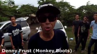 Pingkel Standing ft Denny Frust and Ewok Monkey Boots - Big Monkey ( Live at Kudus )
